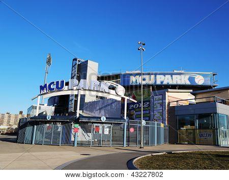 MCU ballpark a minor league baseball stadium for Brooklyn Cyclones
