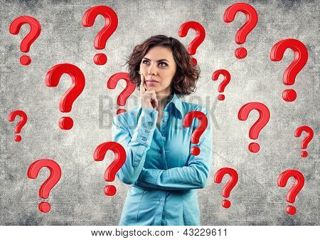 Girl Among Questions