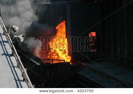 Industrial Fire
