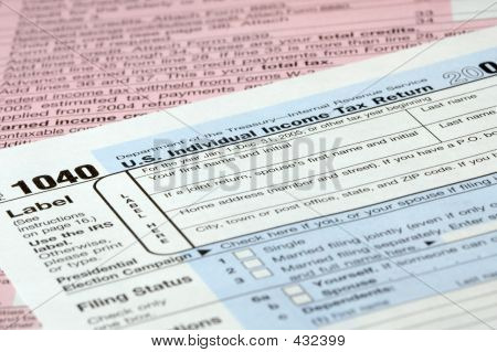 Tax Form Detail