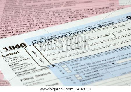 Tax Form Detail