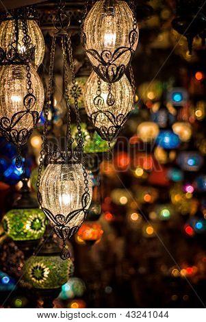 Multicolored Lamps