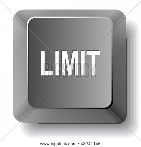 Limit. Raster computer key.