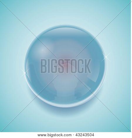 Crystal ball - Gazing ball
