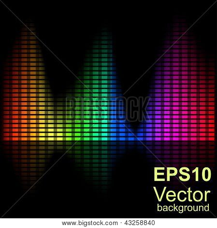 Abstract Bright Spectral Chart