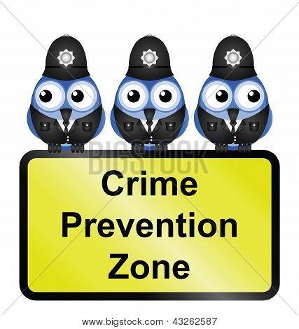 Crime zone UK