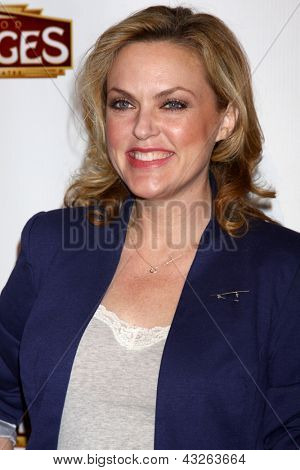 LOS ANGELES - MAR 12:  Elaine Hendrix arrives at the