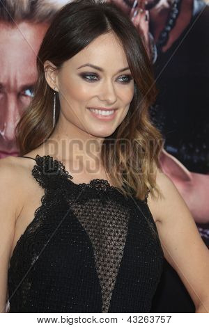 LOS ANGELES - MAR 11:  Olivia Wilde arrives at the World Premiere of
