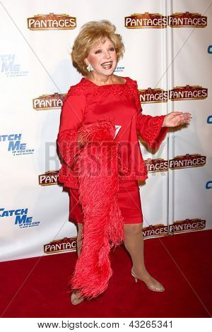 LOS ANGELES - MAR 12:  Ruta Lee arrives at the