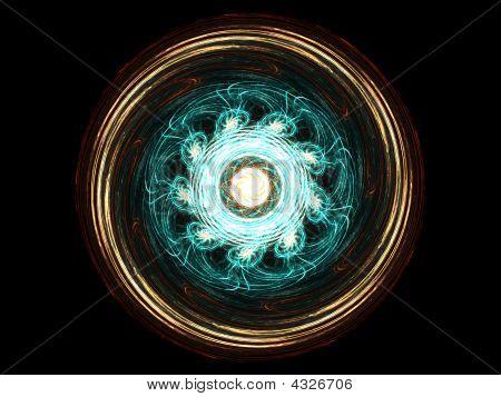 Multicolor Mandala Fractal