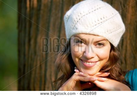 Woman Poritrait Outdoors