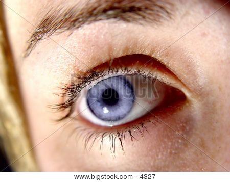 Ladies Eye Closeup