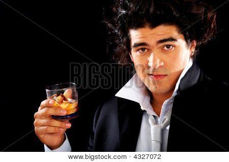 Alcoholic Man