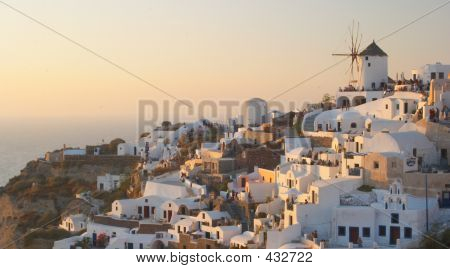 Traditional Greek Village, Oia, Santorini 2