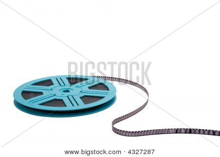 Blue Film Reel S-curve