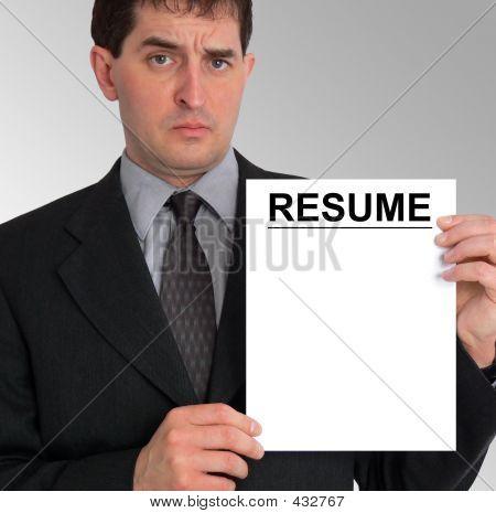 Businessman Side Presentation (resume)