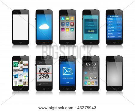 Colección de smartphone