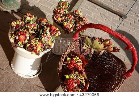 Flower And Fruit Posies