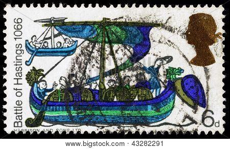 Britain Battle Of Hastings Postage Stamp
