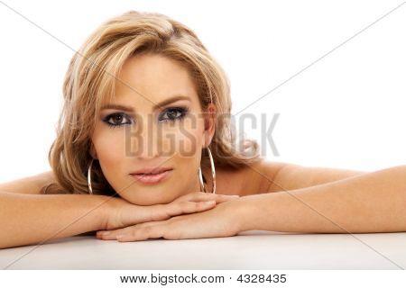 Girl Face Portrait