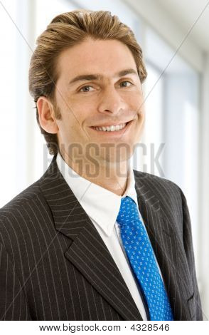 Friendly Business Man Portrait
