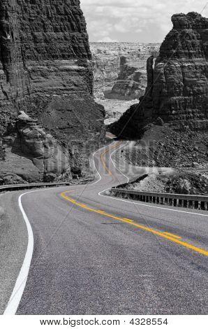 Winding Road, Glen Canyon