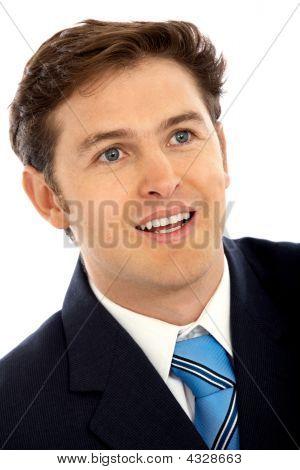 Friendly Business Man Portrait