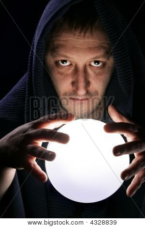 Wizard With Magical Ball