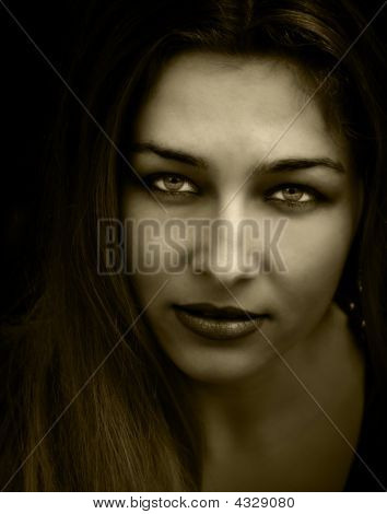 Vintage Beautiful Woman
