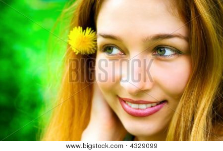 Beautiful Happy Woman