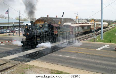 Ausflug der Dampfzug