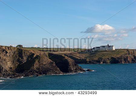 Coastline Gunwalloe Church Cove Cornwall