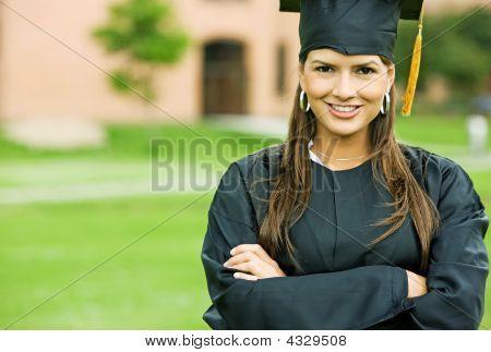 Graduation Woman Portrait