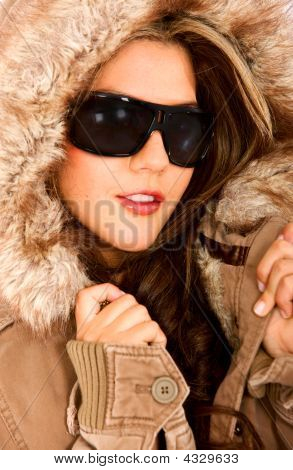 Fashion Woman For Winter