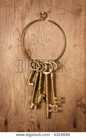 Old Brass Keys