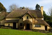 Thatched cottage Somerset Exmoor