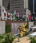 image of rockefeller  - NEW YORK CITY  - JPG