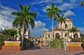 picture of cobblestone  - Trinidad is a town in Cuba - JPG