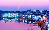 Pushkar Lake At Night