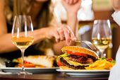 image of hamburger  - Couple  - JPG