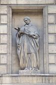 Statue Of St. Carlo Borromeo, Madeleine Church, Paris