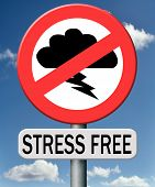 picture of stressless  - stress free zone trough control management and therapy reduce the work pressure in your job - JPG