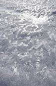 pic of wind blown  - Texture of iced snow blown by wind for background - JPG