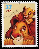 Disney Lion King Postage Stamp