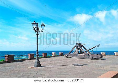 street lamp in Alghero