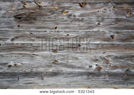 Grungy Wooden Textured Background