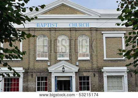 Baptist Church Colchester Essex
