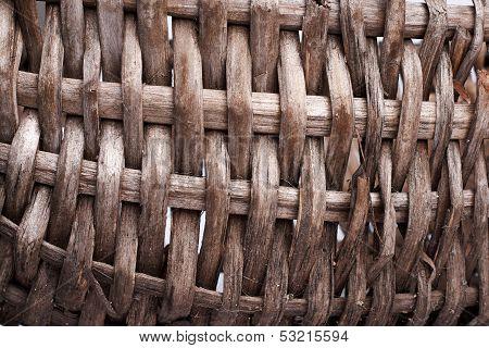 old basket detail