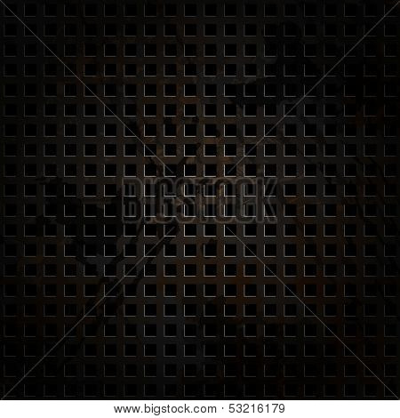 Old metal background with carbon texture