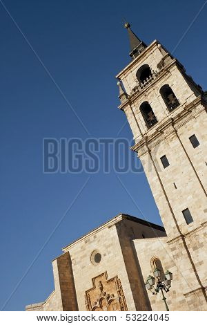 Tower Of Cathedral In Alcala